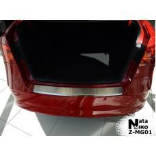 Накладка на задний бампер MG 350 2012- с загибом