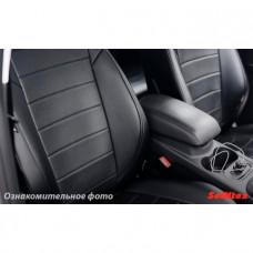 Чехлы Nissan Juke 2011- Эко-кожа /черные