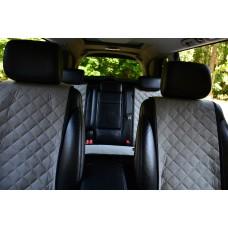 Накидки на сиденья автомобиля полный комплект, серый