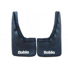 Брызговики Fiat Doblo 01-08 (комплект 2 шт.) задние