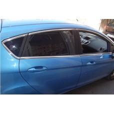 Верхние молдинги стекол Ford Fiesta 2008-2017 8 шт., нерж.