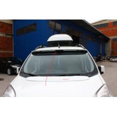 Козырек на лобовое стекло Fiat Fiorino/Qubo 2008- (под покраску)