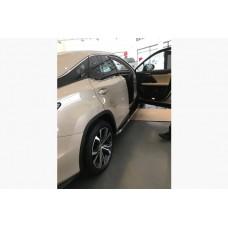 Боковые пороги Lexus RX 2016- BlackLine (2 шт)