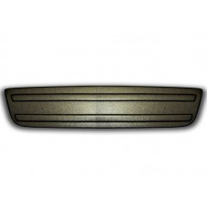 Зимняя накладка на решетку радиатора Opel Vivaro 2006-2015 (бампер низ) матовый