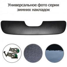 Зимняя накладка на решетку радиатора Renault Master 2014- (решетка) глянец